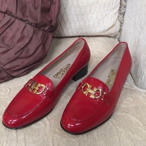 NWOT 🌹🌹🌹Salvatore Ferragamo Red Heels 👠